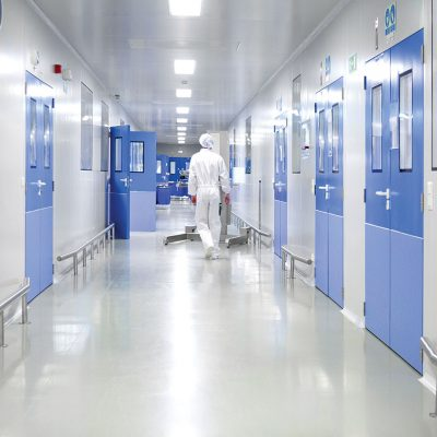 Avoid Contamination When Entering A Clean Room